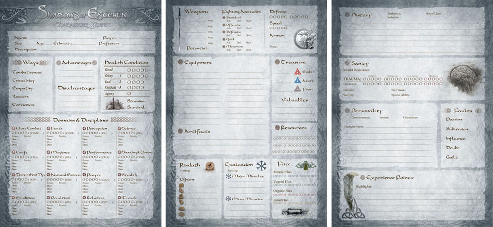 Deathwatch Character Sheet Pdf