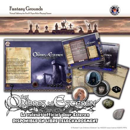 Le ruleset Esteren pour Fantasy Grounds 2 est en ligne ! | Les